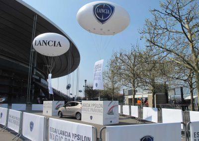 ballon-rugby-helium-publicitaire-personnalise-stade-de-france-lancement-de-produit-sport